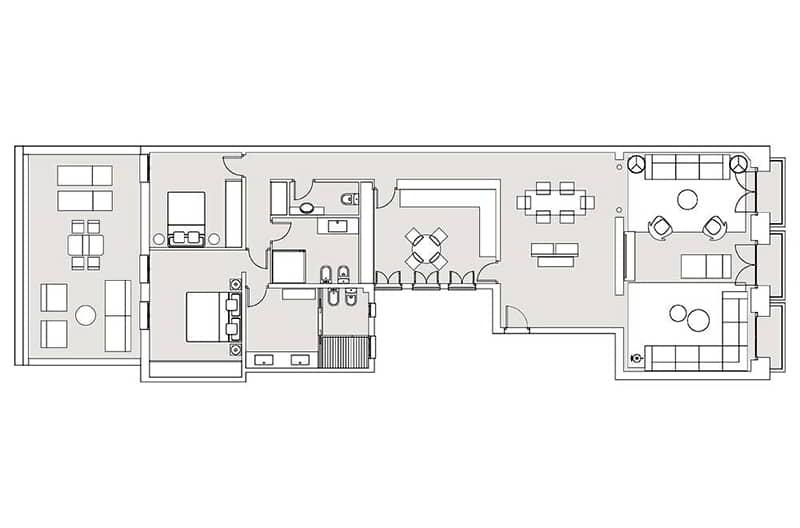 194 m2 + 40 m2 terraza