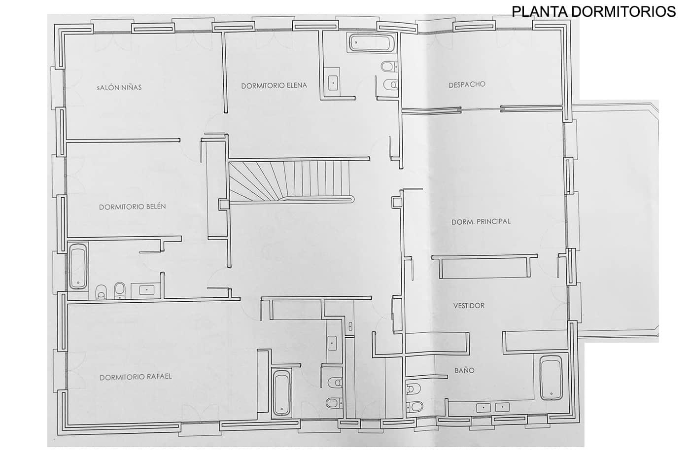 Planta Dormitorios